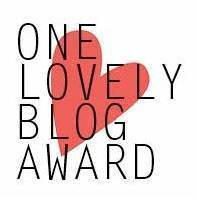 AWARD ONE LOVELY BLOG